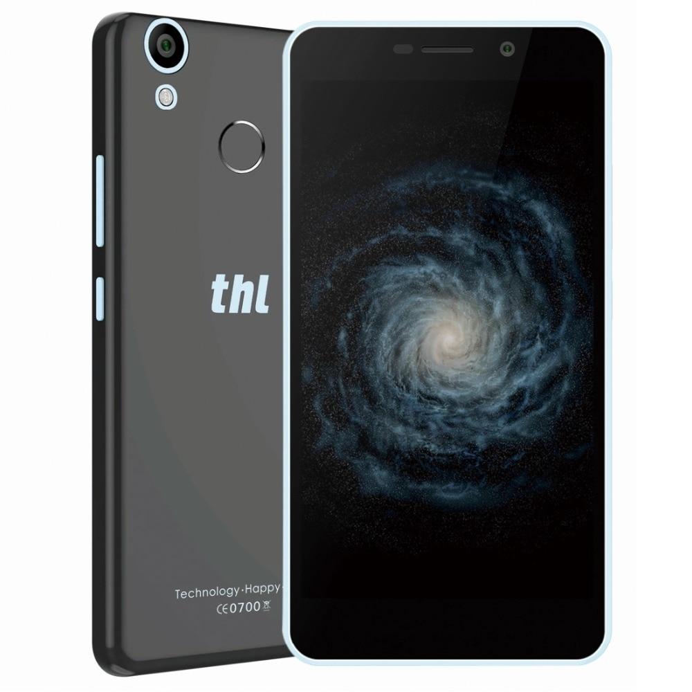 THL T9 Pro Smartphone 5.5 ''Écran HD Android 6.0 MTK6737 Quad Core 1.3 GHz Mobile 2 GB RAM 16 GB ROM 3000 mAh 4G Téléphone Portable 8.0MP FM