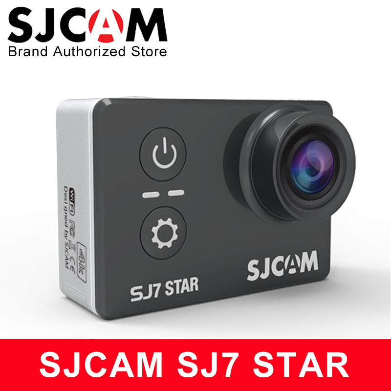 Original SJCAM SJ7 Star Sports Action Camera 4K DV Ultra HD 2.0 Touch Screen Waterproof Remote Ambarella A12S75 SJ Cam