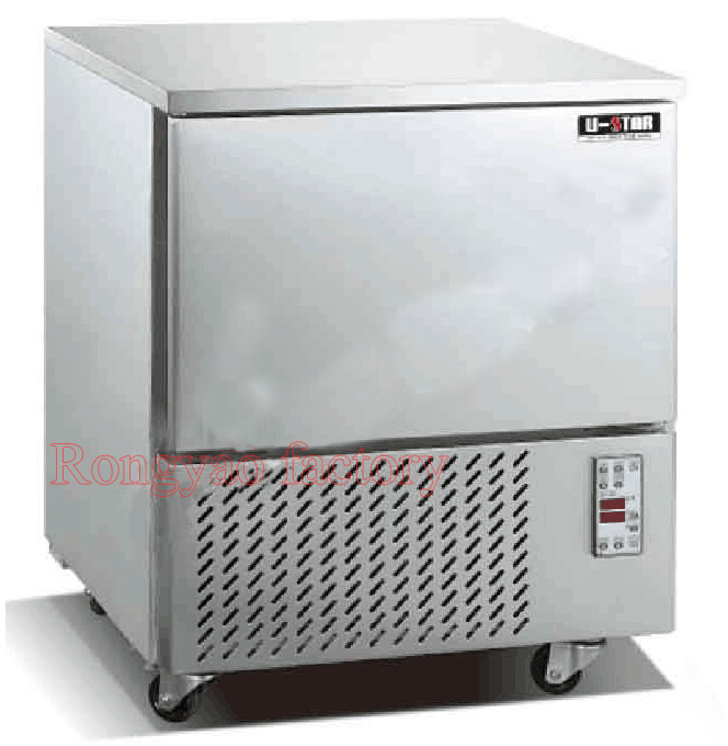 -35~3 Degree RY-BCF-20 Blast Freezer Shock Quick-freezing For Food 5 Layers Air-cooling Freezer