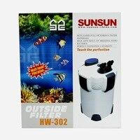Senson Cartridge Filter Aquarium Filter Aquarium External Filter HW 302 Aquarium Filter Aquario Skimmer Basen Ogrodowy Sunsun