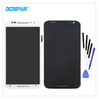 100 Tested White For Motorola Moto X2 Xt1092 Xt1095 Xt1097 LCD Display Touch Screen Digitizer Assembly