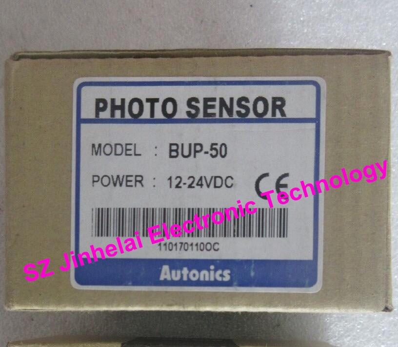 100% Authentic original BUP-50 AUTONICS PHOTOELECTRIC SWITCH 12-24VDC new original photoelectric sensors bup 50 12 24v pnp autonics korean brands
