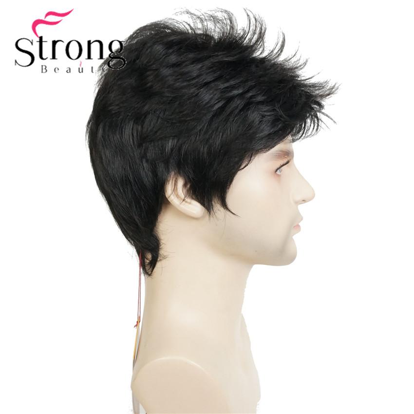 E-1733A #2 black short wig (3)