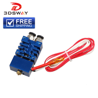 3DSWAY 3D Printer Parts Improved Version 2 In 1 Out Hotend Dual Color Switching Hotend Kit