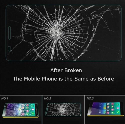 HOMTOM HT17 Tempered Kaca Kualitas Tinggi Asli Pelindung Layar Kaca - Aksesori dan suku cadang ponsel - Foto 4