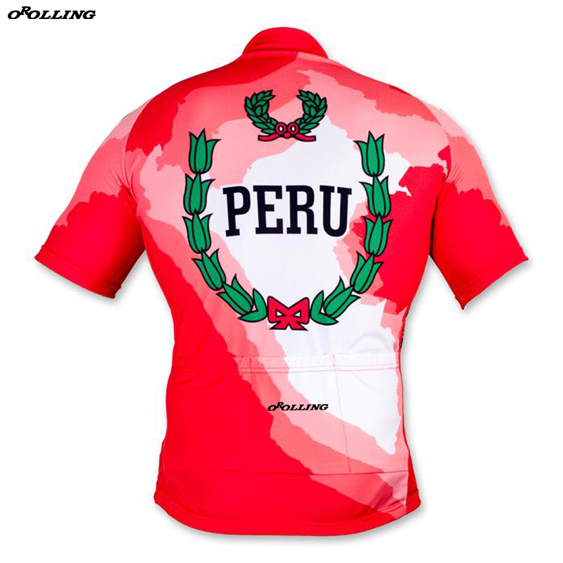 93f8062a803 New 2018 PERU Team Cycling Jersey Customized Road Mountain Race Top  Classical OROLLING-in Cycling Jerseys from Sports & Entertainment on  Aliexpress.com ...