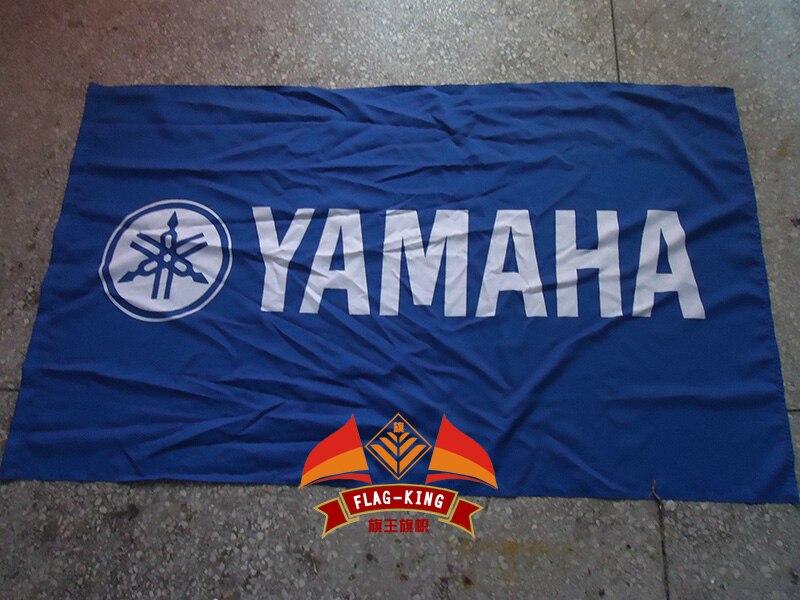 Blau Yamaha Logo Flagge Auto Racing Club 90150 CM Polyster Banner Konig In