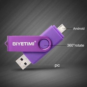 Image 5 - Biyetimi 2019 nuovo arrivo 3.0 OTG flash drive usb 8GB 16GB 32GB 64GB di memoria del bastone pendrive per Android