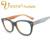 IVSTA Óculos Frame Ótico do Acetato Handmade Armações De Acetato com Projeto De Madeira da Grão De Madeira Óculos de sol Das Mulheres Gato Olho óculos de miopia 2985