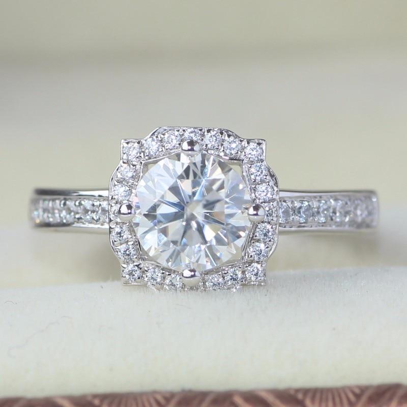 Anillo De Dama Perla Agua Dulce 25 Diamantes Brillantes Oro 585 Blanco Rojo Fine Rings Jewelry & Watches