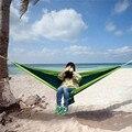 Parachute Nylon Tecido portátil Ao Ar Livre Viagem Camping Hammock