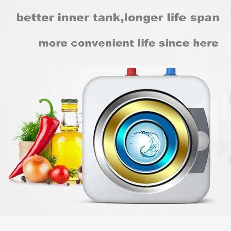 Elektrische Warmwasserbereiter Mini Schnelle Tank Bad Induktion ...