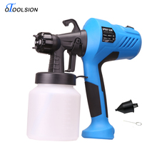 400W 2.5MM Electric Spray Gun 200V-240V AC Mini Spray Gun Paint Sprayer Hvlp Spray Gun for Painting Cars Wood Furniture Wall