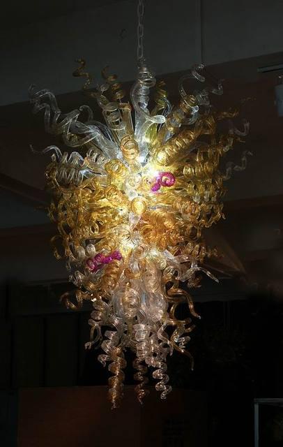 100 Mouth N Borosilicate Glass Indoor Crystals Decorate Chandeliers Dale Chihuly Style Murano Modern