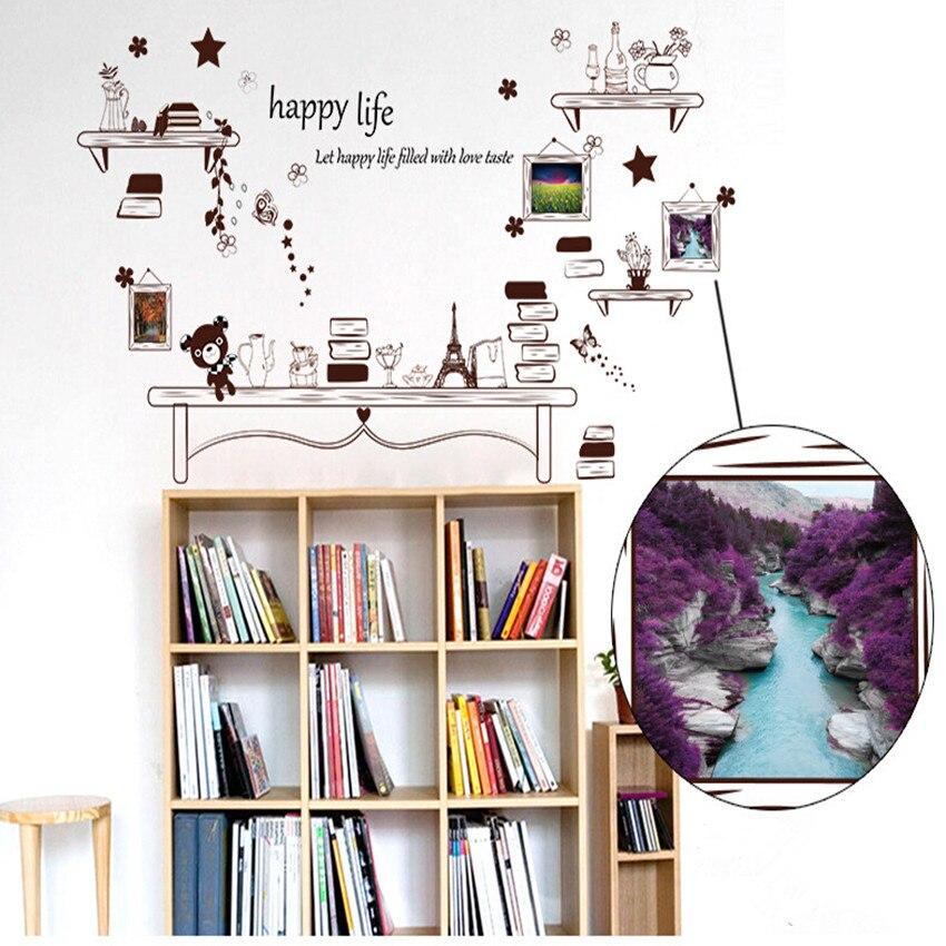 Fotos creativas Marcos pegatina DIY vinilo Adhesivos de pared ...