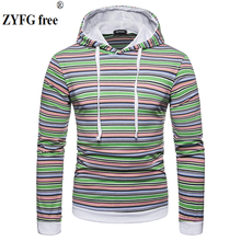 ZYFG free men Hoodies Sweatshirts Uchiha Syaringan Hooded Boys Fashion Hokage Ninjia Men/women Classic Cartoon striped Clothes