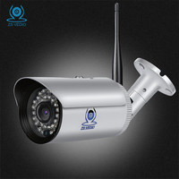ZSVEDIO Surveillance Cameras WIFI HD IP Camera Motion Detection Alarm System IP Cameras Ip66 Waterproof CCTV