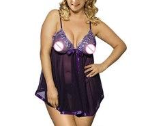 Sexy Clothes Erotic Underwear Women Baby Doll Sexy Lingerie Transparent Plus Size 5XL Lingerie Sleepwear