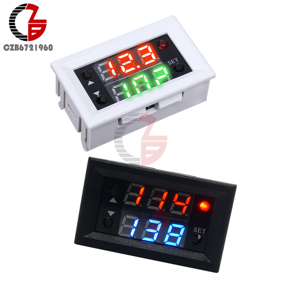 Dc 12v Adjustable Timer Delay Turn Off Module Timing Relay Time On Dual Display Mini Led Digital