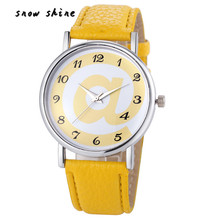 snowshine #10   Fashion Women Analog Leather Quartz Wrist Watch Watches  free shipping