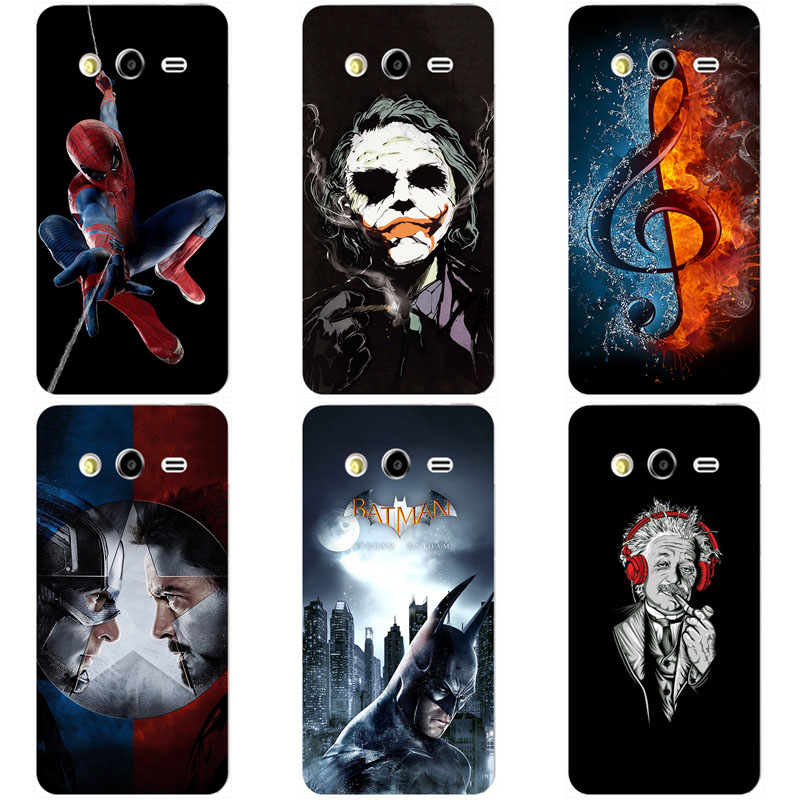 Popular Soft TPU Silicon Case for Samsung Galaxy Grand 2 Duos G7106 G7105 G7108 G7109 G7102 Original Patterned Capa Back Cover