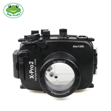 For Fujifilm X-Pro2 Camera Waterproof Housing Case Surf Underwater Swimming Pool Photography Shooting Protective Cover