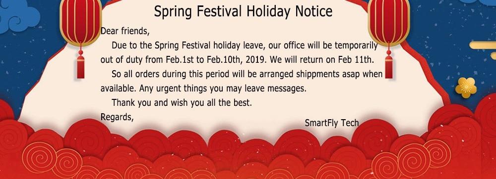 Spring festival Leave Notice
