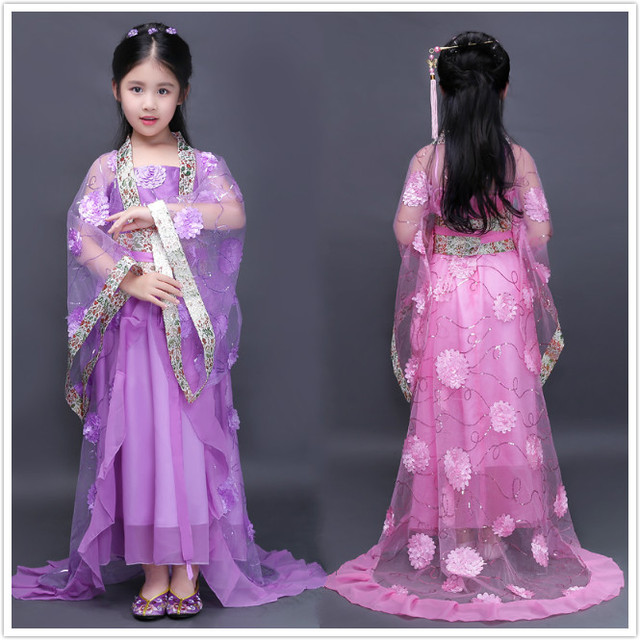 b7a11292d8c5 Chinese Costumes Kids Children s Fairy Costume Tang Dynasty Princess ...