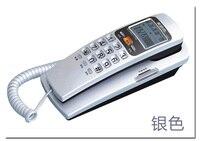 Бесплатная доставка trimline настенный телефонный набор с ЖК-дисплеем, samll телефон