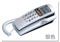 Free Shipping Trimline Wall Mountable Telephone Set With Lcd Display Samll Telephone