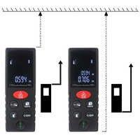 Mètre numérique de Distance de Laser mètre de bande télémètre Laser avec des Instruments de mesure de Volume de zone télémètre 40 m 60 m 80 m 100 m