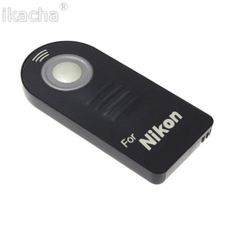 ML-L3 ML L3 IR Wireless Remote Control For Nikon D7000 D5100 D5000 D3000 D90 D80 D70S D70 D50 D60 D40 D40X 8400 8800 Camera wired remote shutter release for nikon d80 d70s 98cm length