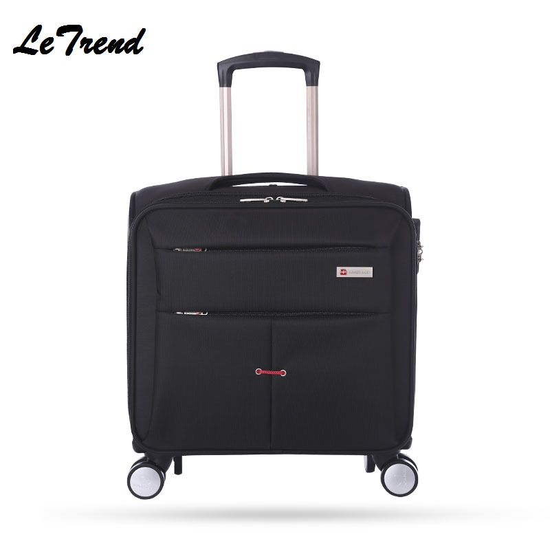 New Business Travel Oxford Rolling Luggage Casters 16 inch Men Multifunction Boarding Suitcase Large Capacity Travel Luggage New Business Travel Oxford Rolling Luggage Casters 16 inch Men Multifunction Boarding Suitcase Large Capacity Travel Luggage