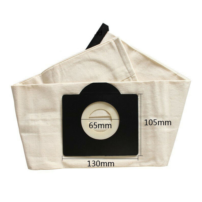 Image 3 - 3Pcs Cloth Bag Set for Vacuum Cleaner Karcher Wd3 Wd3300 Wd3.500P Mv3 Dust Bag-in Vacuum Cleaner Parts from Home Appliances