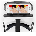 Venta caliente y de alta calidad gafas de realidad virtual gafas 3d vr auricular ojo rift google cartón herramientas