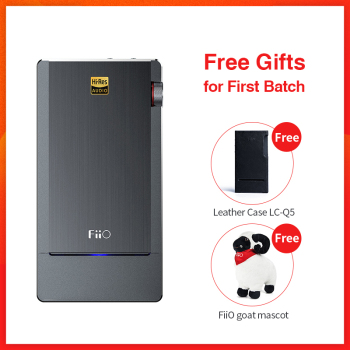FiiO Q5 Bluetooth 4.2 APTX AAC and DSD-Capable DAC&Amplifier,DAC Amplifier Q5 for iPhonecomputerAndroidSony Стикер