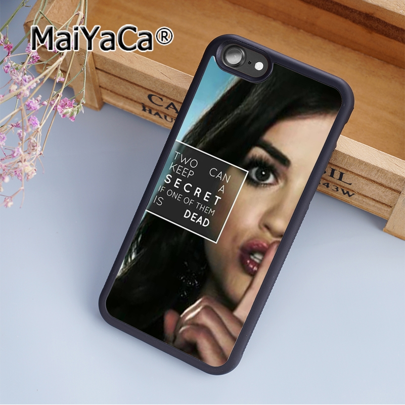 Maiyaca A Symbol Pretty Little Liars Soft Rubber Cell Phone Case