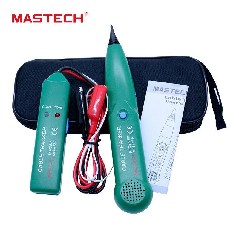 Nouvelle Arrivée Téléphone Téléphone Fil Testeur de Câble Réseau Line Tracker pour MASTECH MS6812 Gros