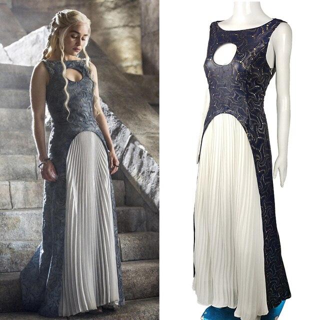 The Game Of Thrones Dress Cosplay Daenerys Targaryen Qarth