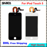 Sinbeda 10pcs Lot For IPod Touch 5 5th LCD Display With Touch Screen Digitizer Assembly For
