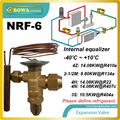 NRF-6 thermal expansion valve(TEV or TXV) is preferred over other refrigeration metering devices and replace DANFOSS TG valves