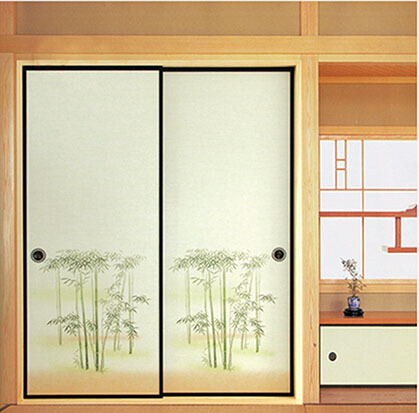 Japanese Fusuma Door Paper 2 Sheets/Pair Washi Woodblock Decor Decorative Wall Paper Soji Sliding Door Bedroom Living Room-in Furniture Accessories from ...  sc 1 st  AliExpress.com & Japanese Fusuma Door Paper 2 Sheets/Pair Washi Woodblock Decor ... pezcame.com