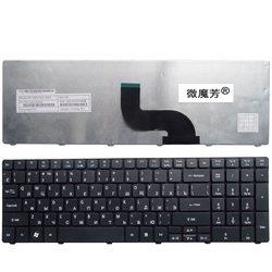 Rosyjski Laptop klawiatura do Acer dla Aspire 7735 7551 5336 5410 5536 5738g 5252 7740G 7750 7750G 7750ZG 7235 7235G 7250 7250G RU w Zamienne klawiatury od Komputer i biuro na