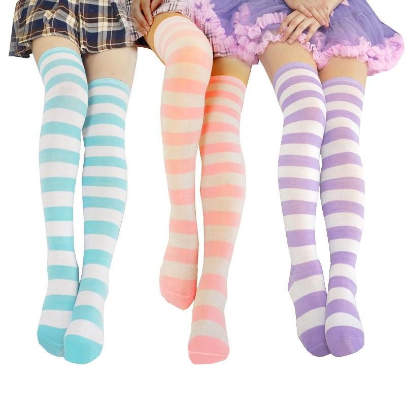 Kawaii Lolita Overknee Stocking