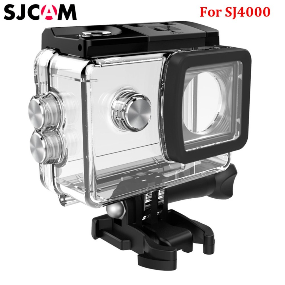 Original SJCAM Accessories Waterproof Case Underwater Dive Housing 30M Waterproof For SJ4000 Action Sport Camera