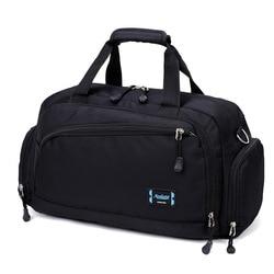 Gym Bags Men Sports Fitness Pack Cylinder One Shoulder Sport Bag Women's Handbags Travel Bags Nylon Waterproof Handbag Package