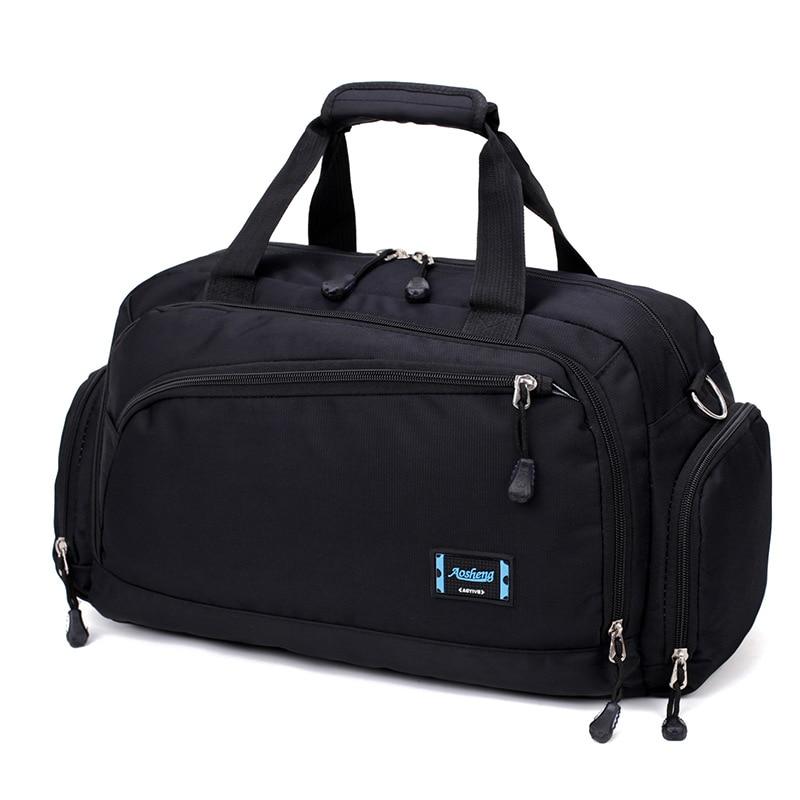 Gym Taschen Männer Sport Fitness Pack Zylinder Schulter Sport Tasche frauen Handtaschen Reisetaschen Nylon Wasserdichte Handtasche Paket