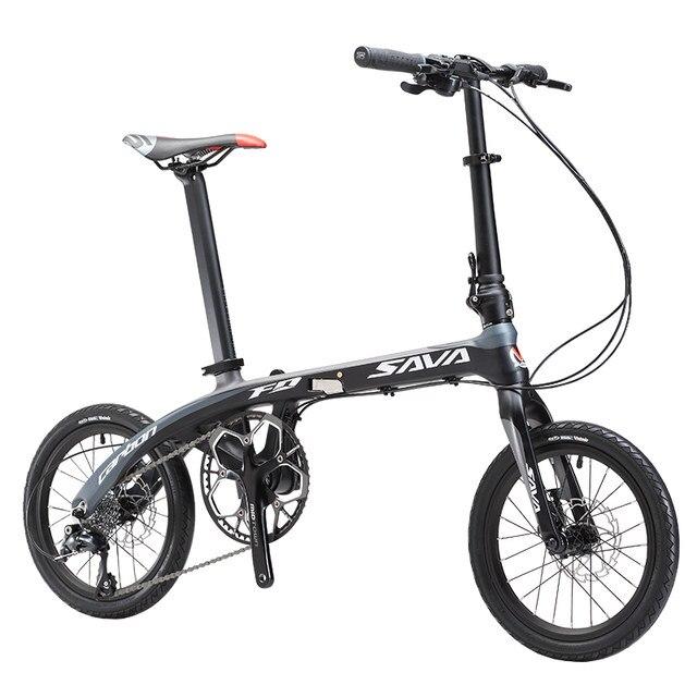 Tienda Online Bicicleta plegable Sava 16 pulgadas carbono Fibra ...