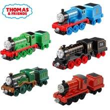 Томас и Друзья Джеймс двигатель Гордон Генрих Белль мини поезда железнодорожные аксессуары классические игрушки металлический материал игрушки для детей