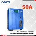 720 W/1200VA/1440W2400VA Inversor de Energia Solar com 12V50A 24V50A controlador de carga solar LCD dispaly USB saída AC carregador